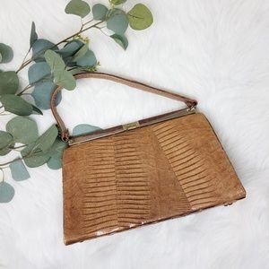 STERLING USA Vintage Lizard Bag Purse